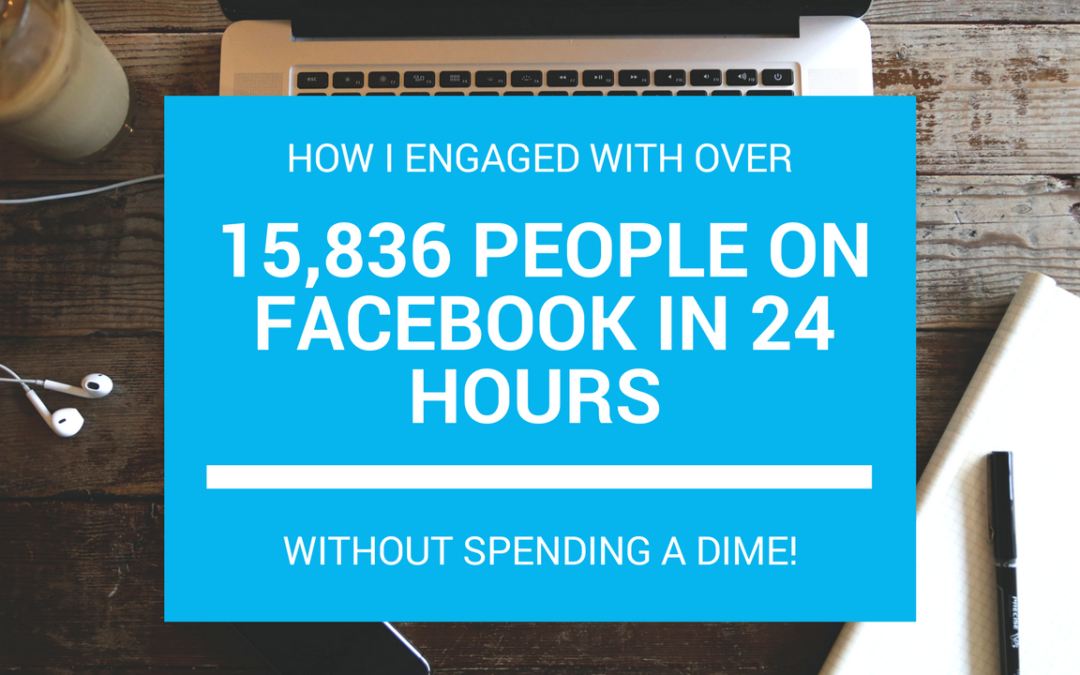 How our Clinic Reached 15,638 People on Facebook in 24 Hours without spending a dime.